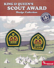 WOSM SCOUTS - KING & QUEEN SCOUT AWARD Highest Rank Top Award Badge Collection
