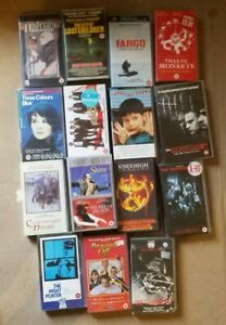15 varied   Video Cassette Tapes Films