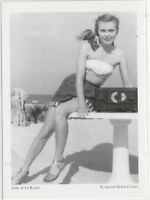 "*Postcard-""The Beach Girl with Radio"" -1950's- *Florida's Space Coast (#109)"
