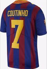 "NIKE FC BARCELONA LIMITED FOOTBALL JERSEY NFL ""COUTINHO #7""SZ.XL (AV8374-456)"