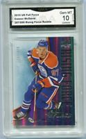 2015 Connor Mcdavid Upper Deck Full Force  Rising rookie gem mint 10 #287/999