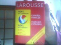 Mini dictionnaire espagnol-français, français-espagnol de Collectif