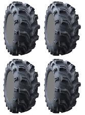 Four 4 Interco Vampire II ATV Tires Set 2 Front 25x8-12 & 2 Rear 25x10-12 2