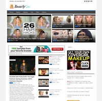 Fully Automated Beauty Tips Videos Website