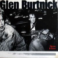 Glen Burtnick – Heroes & Zeros CD NEW