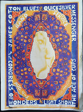 Quicksilver Messenger Service & The Ace of Cups - Orig. 1967 Concert handbill
