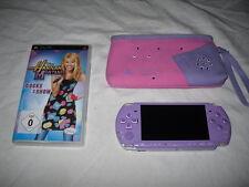 SONY PSP 3004 Slim&Lite, Purple Lilac, Hannah Montana