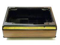 Videostak Game Center Atari 2600 Organizer Storage Case Holder For 27 Games