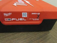 NEW Milwaukee M18 Fuel  Drill/Driver Case (CASE ONLY) - 2653-22 P11