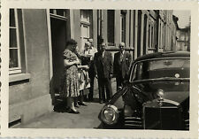 PHOTO ANCIENNE - VINTAGE SNAPSHOT - VOITURE AUTOMOBILE MERCEDES - CAR 2