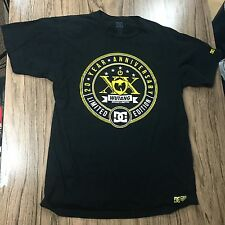 DC Shoes Wu Tang Clan 20th Anniversary Limited Edition Shirt Size M #6326