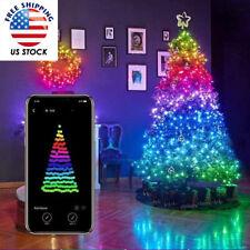Christmas Tree Decoration Light App Control Custom LED Bluetooth String Lights