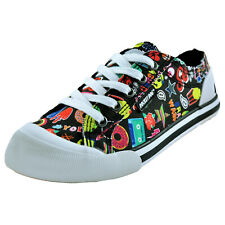Rocket Dog Womens Girls Designer Fashion Plimsols Trainers From £12.99 FREE P&P