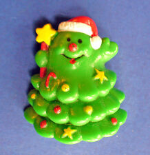 Buy1&Get1@50%~Russ Pin Christmas Tree Star Wand Anthropomorphi 00006000 c Vtg 80s Brooch