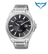 Citizen Super Titanium Herren Armbanduhr BM6930-57E Saphir Eco-Drive Herrenuhr