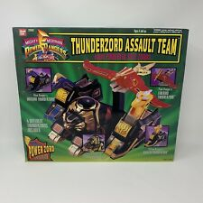 Bandai Mighty Morphin Power Rangers Thunderzord Adult Team MMPR Complete