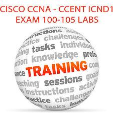 Cisco Ccna Icnd 1 examen para CCENT 100-105 laboratorios-DVD tutorial en vídeo de formación