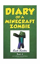 Diary of a Minecraft Zombie Book 2: Bullies and Buddies (Volume... Free Shipping