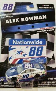 Alex Bowman 2018 Nationwide Patriotic #88 NASCAR Authentics Wave 10 Diecast 1/64