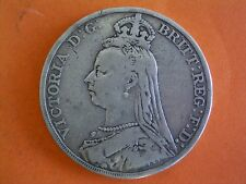 1892 Queen Victoria Jubilee Coinage Milled Silver Crown