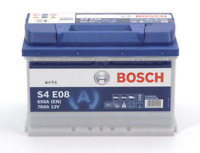 S4E08 BOSCH CAR BATTERY 12V 70Ah TYPE 096 OE QUALITY 4 YEAR WARRANTY