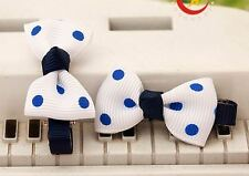 New Pet Dog Cat Hair Bow Clip Dog Party Festival Christmas Hair deco - Two pcs