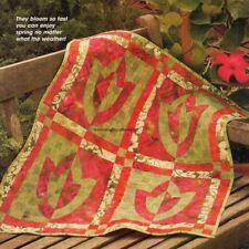 Fat Quarter Flowers Quilt Pattern Pieced/Applique Dk