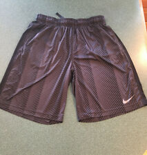 MENS DRI-FIT NIKE ATHLETIC SHORTS SZ L EUC