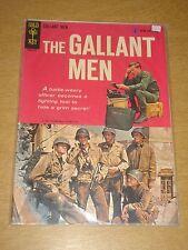 GALLANT MEN #1 FN- (5.5) GOLD KEY COMICS AUGUST 1954 <