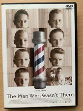 The Man Who Wasn't There DVD 2001 Coen Brothers Classic Rare Japanese Release