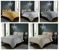 New Design DEMASK Printed Reversable Duvet Cover+PillowCase Bed Set Or Bedspread