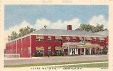 B55/ Jacksonville North Carolina NC Postcard 1947 Hotel Walmor