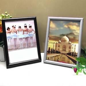 1pk Stand Vertical Or Horizontal 4 X 6 Modern Photo Frame Lavender Plastic