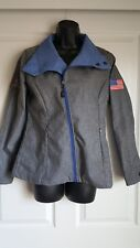 Microsoft Authentic Women's Heather Gray Jacket MSUS United States Size Small