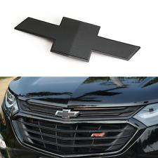 Black CHEVROLET Nameplate Car Front Hood Grille Emblem Badge for Chevy Equinox