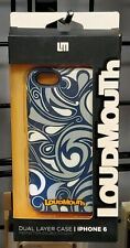 M-Edge LoudMouth Hybrid Case for iPhone 6/6s - Navy Blue/Gray/White - #12F