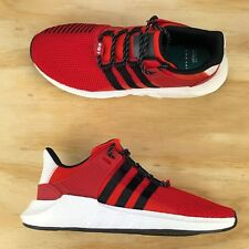 Adidas Support EQT 93/17 Scarlet Red Core Black Boost Running Shoes CQ2398 Size
