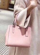 Coach F57847 Minetta Crossbody  Blush Pink Crossgrain Leather NWT $325