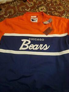 Mitchell & Ness Chicago Bears NFL Men's Head Coach Crew Sweatshirt Size 4XL