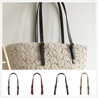 1pc DIY Replacement Adjustable Leather Shoulder Handbag Purse Handle Bag Strap