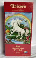 Unicorn By Anthony Barzone 200 Pc. Puzzle-Sealed
