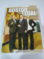Boston Legal Season Three 3 Completa - 7 x DVD Ingles Region 1 - 2T