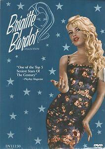 Brigitte Bardot Collection Box Set (DVD, 2000, 5-Disc Set) - FACTORY SEALED!