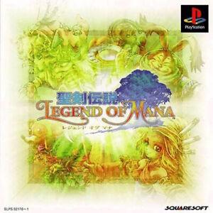 Legend of Mana Jeu Sony Playstation 1 Occasion Version NTSC-J (Japon)