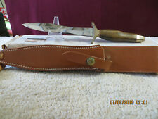 Vintage Rare Gerber Mark 2 two Mark II Zebrawood Model knife NIB
