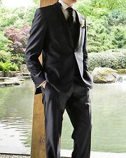 Wie NEU: Smoking Anzug Wilvorst dunkelblau Größe 98 - Kollektion 2015 Hochzeit