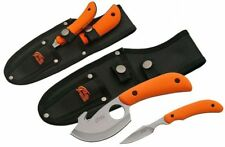 FIXED-BLADE HUNTING KNIFE | 2 Piece Orange Gut Hook & Caping Blade Skinner Kit