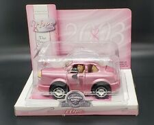 Chevron Collectible Cars Hope Breast Cancer Awareness Pink Car 2003 NIB