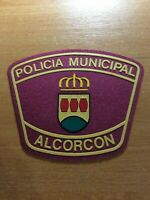 SPAIN PATCH POLICE POLICIA LOCAL ALCORCON ( MADRID ) ORIGINAL!