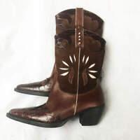 Vaneli Women's Jeska Dark Tan Casual Calf Boot - Size 7.5 M  (Retail $218)
